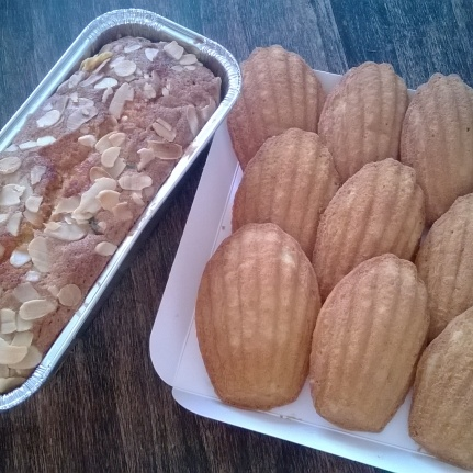 Cake and Madeleines