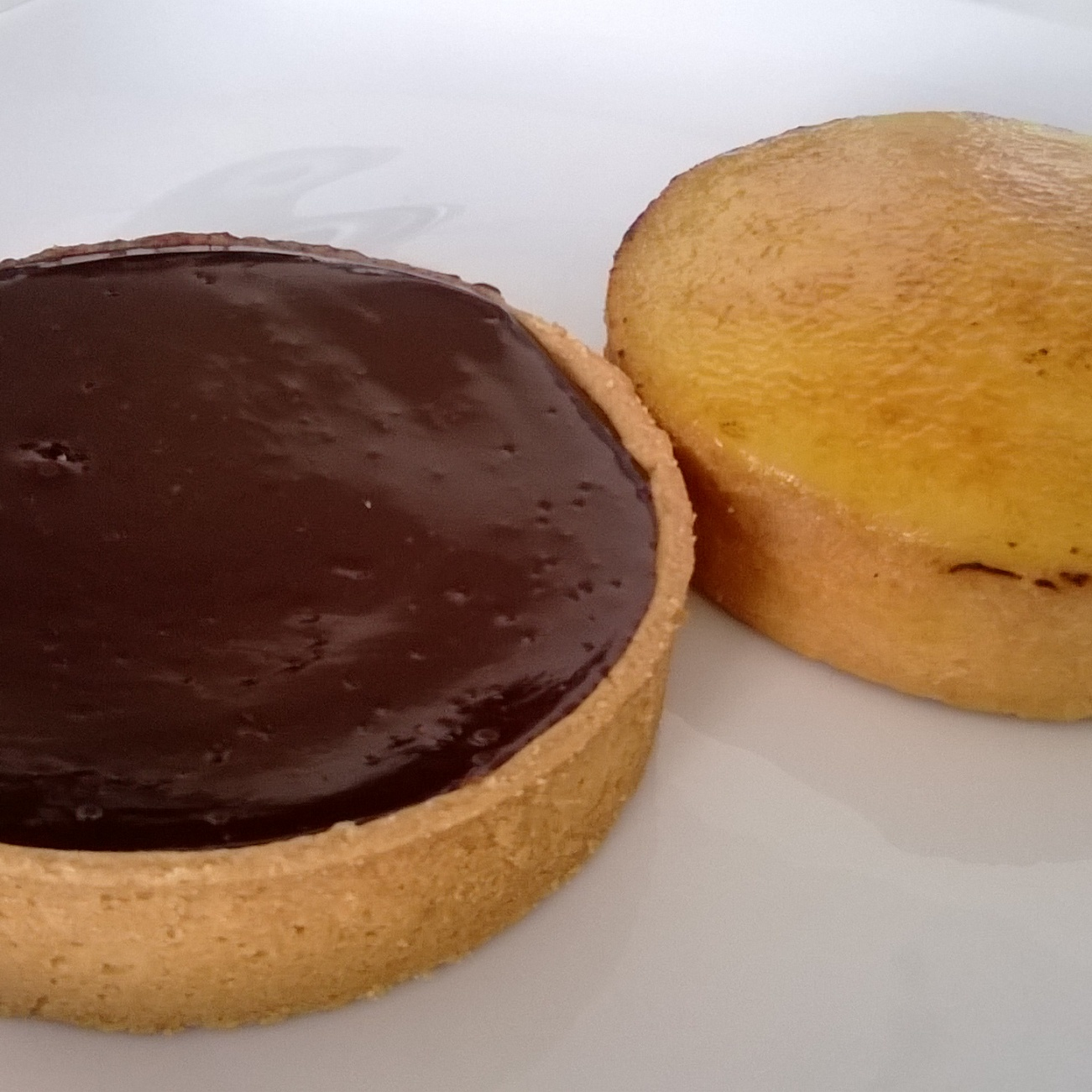 Tartelettes au chocolat and à l'orange