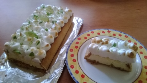 Lime and ginger meringue pie at http://wp.me/p5uVyi-2ww