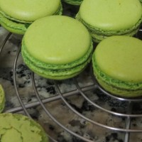 Italian meringue macaron shells recipe - con notas supplementarias en español/inglés al final