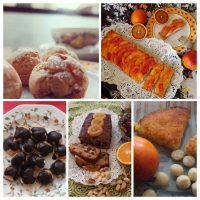 A week in cakes:  a photo-collage review