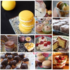 Almost healthy small cakes and treats
