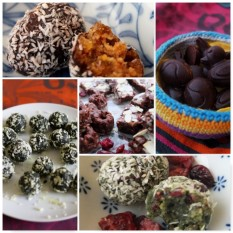 bliss balls and cocoa bites