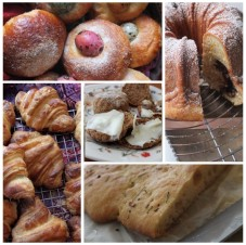 breads and viennoiserie - almost healthy