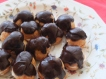 Chocolate profiteroles