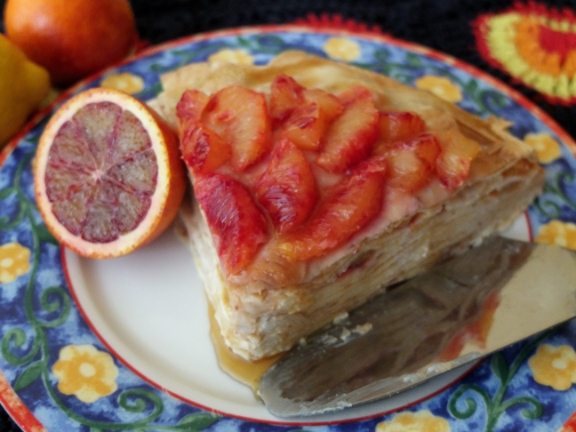 Healthy citrus curd mille-crêpes cake at http://wp.me/p5uVyi-4SB