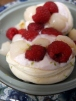Ispahan meringue nest