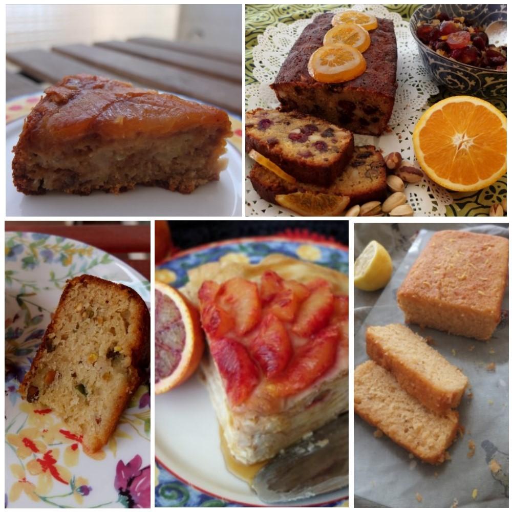 Healthier cakes