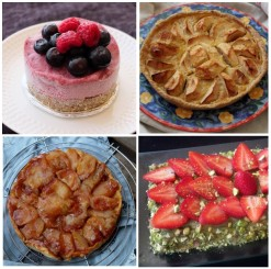 Healthier pies and tarts