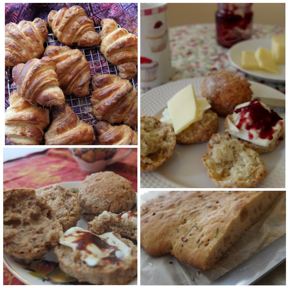 Healthy breads and viennoiserie