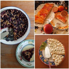 Pies and tarts, almost healthy