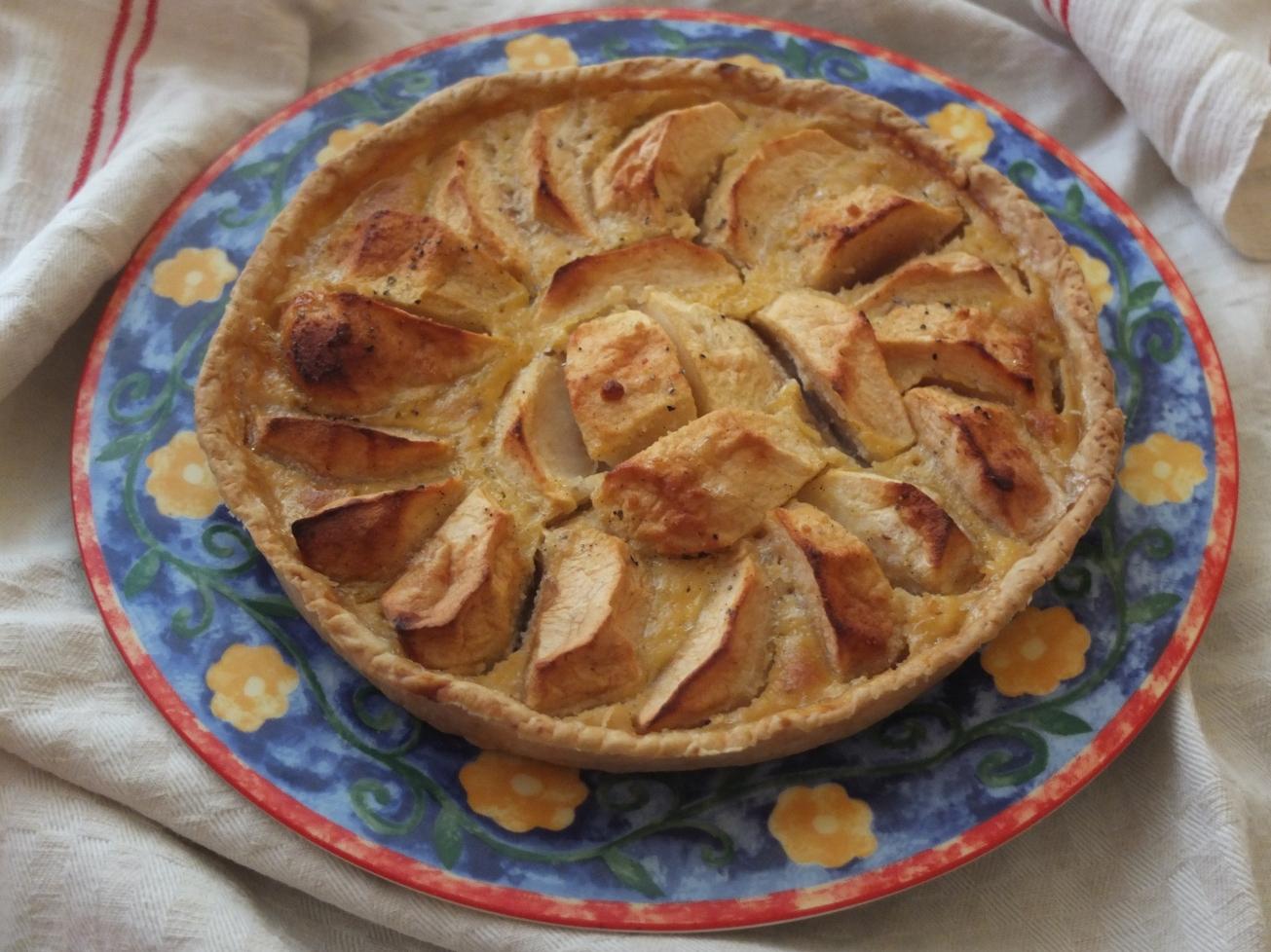 apple tarte normande