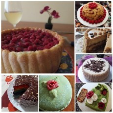 Almost healthy special cakes
