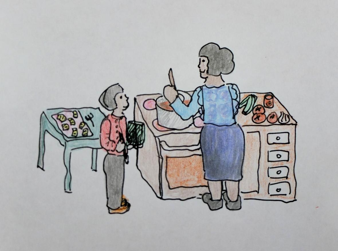 torta di verdura