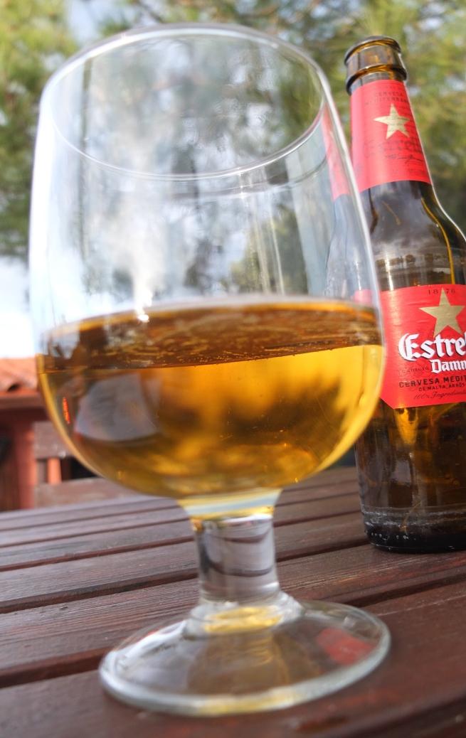 Aprés-climb beer