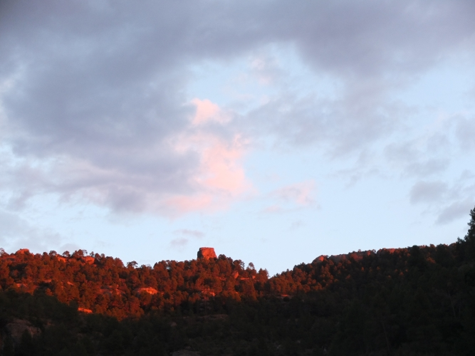 Another dusk - at Margalef