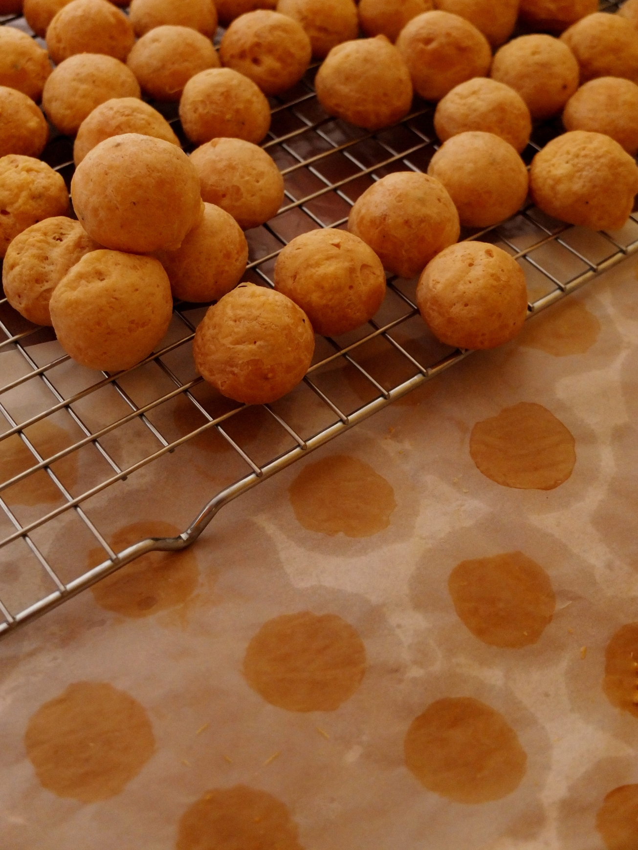 gougere cheese puffs