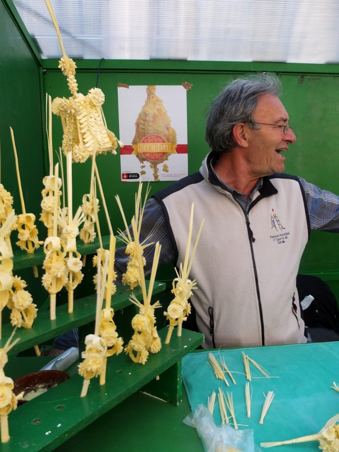 Man selling