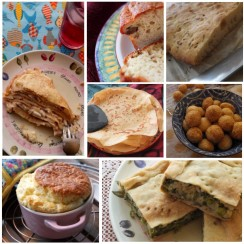 Savoury cakes and snacks