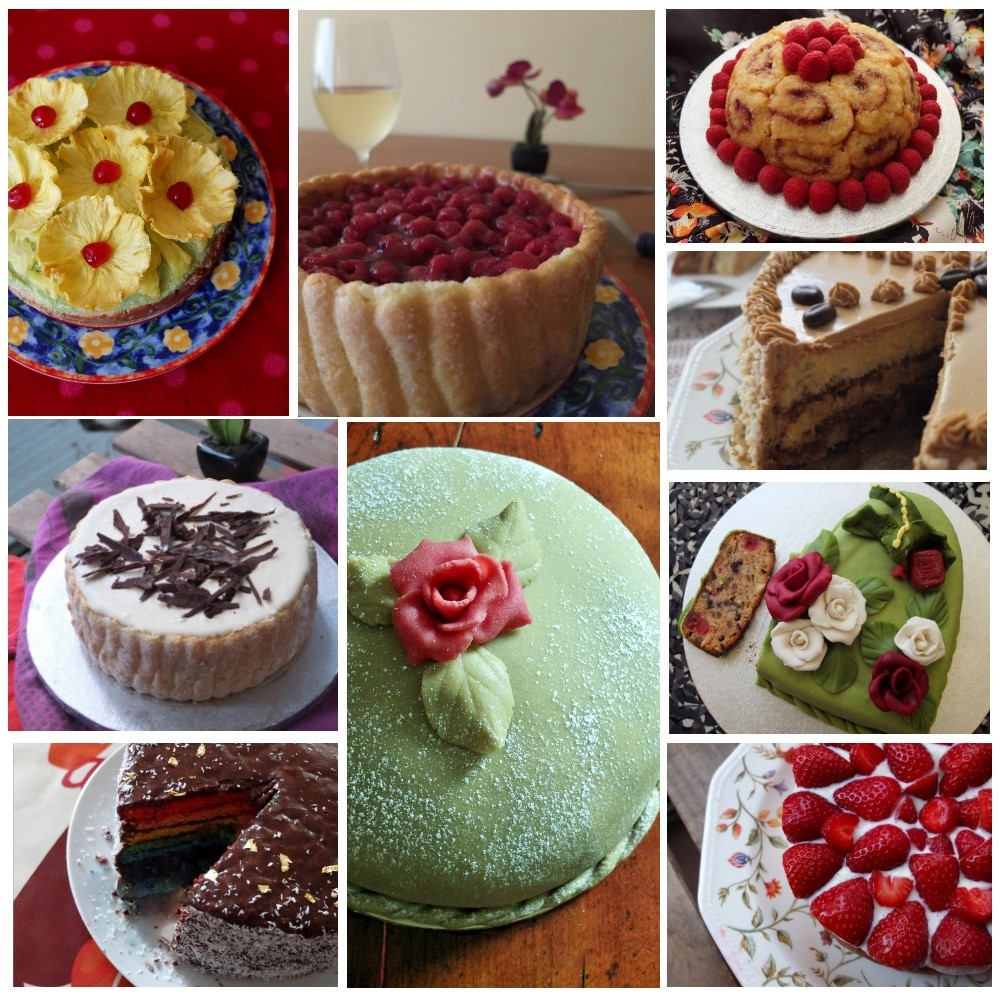 Special almost healthy cakes