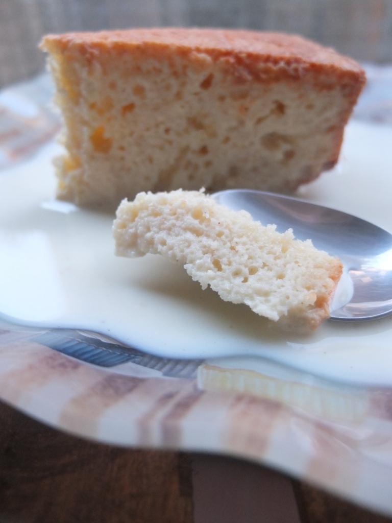 Chef Ruben Boldo's tres leches cake