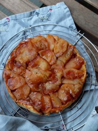 Chinese 5 spices and Tamarind Apple tarte tatin