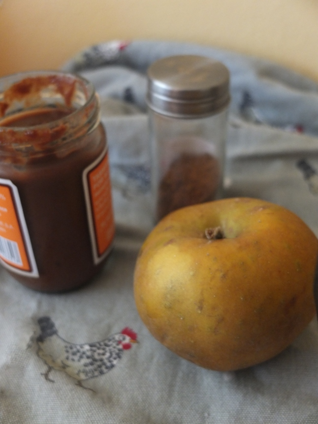 Apple, tamarind paste and Chinese 5 spices