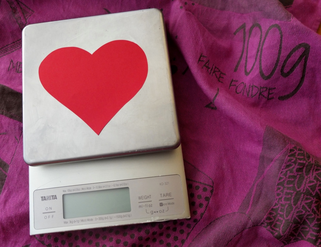 I love my weighing scales!