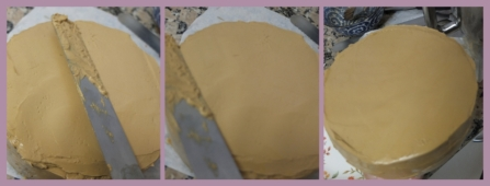 Assembling the cake no.6
