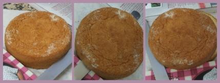 Assembling the cake no.1