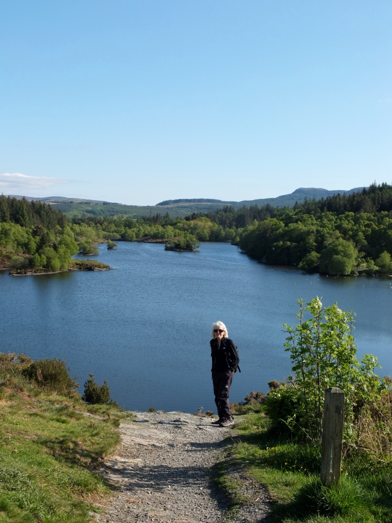 Mum by the lake