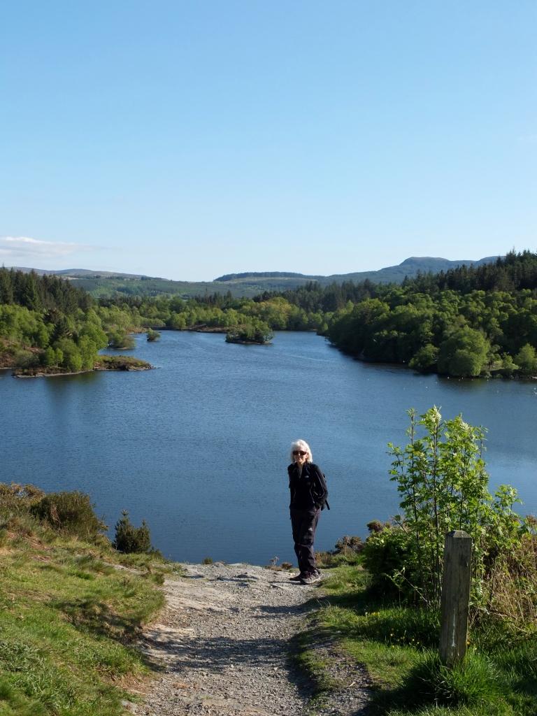 Mum by the lake