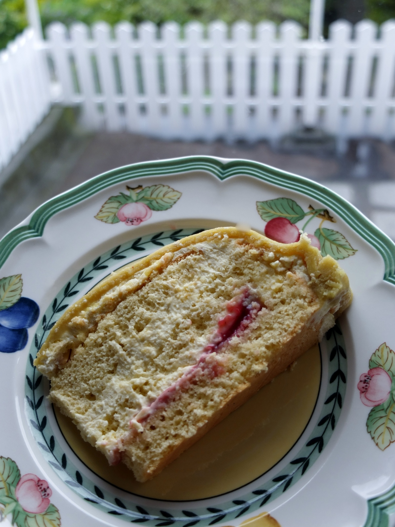 A slice of princess cake