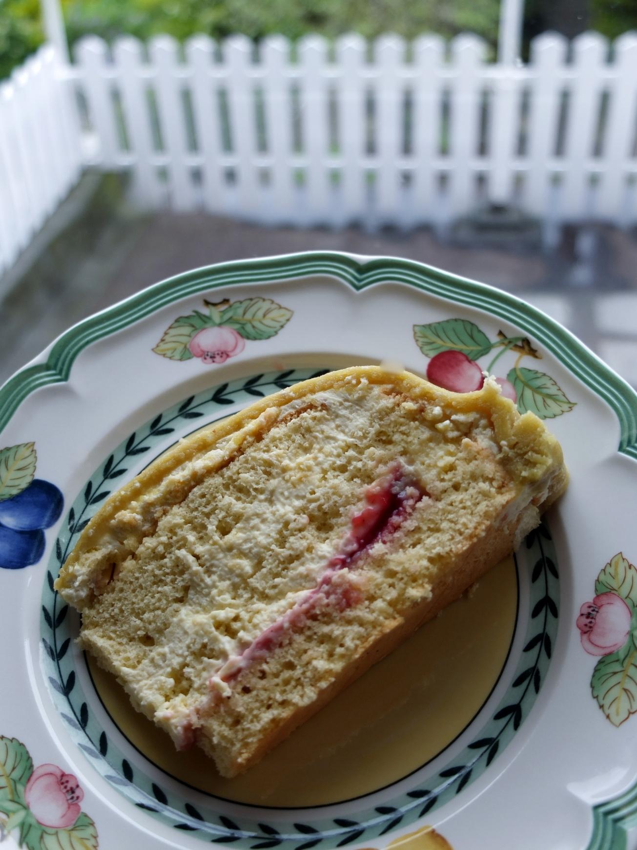 A slice of princess cake