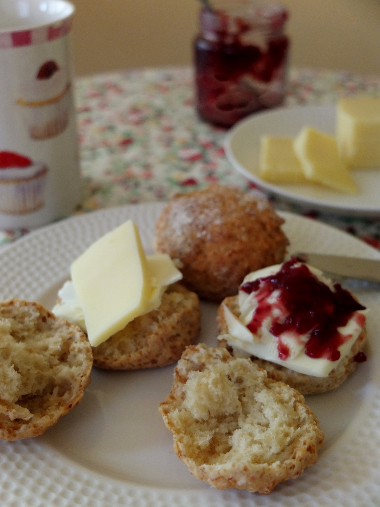 A Simple Spelt Scones Recipe And The Story Of Two Villages