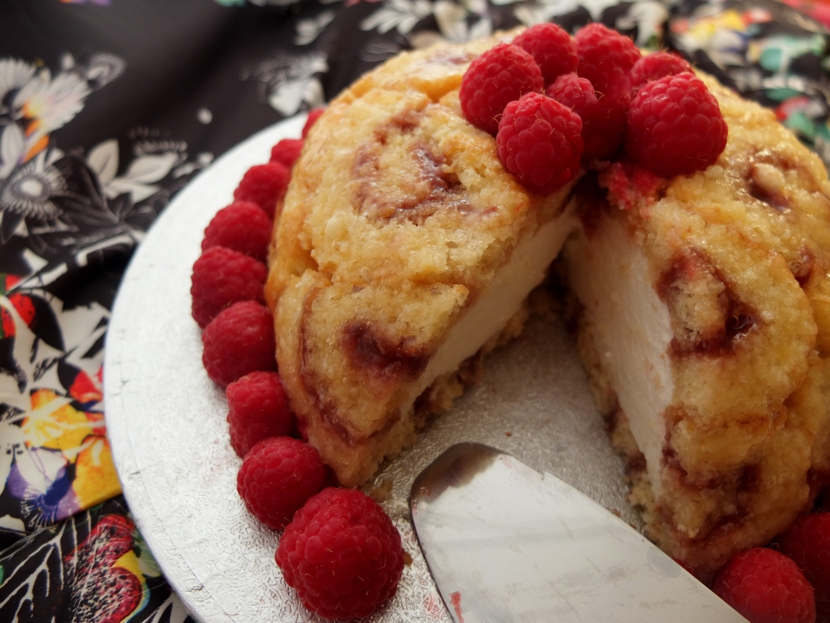 Lemon Mousse And Raspberry Charlotte Royale Recipe And