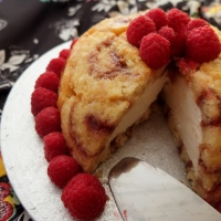 Lemon mousse and raspberry charlotte royale recipe - and the cakometre!