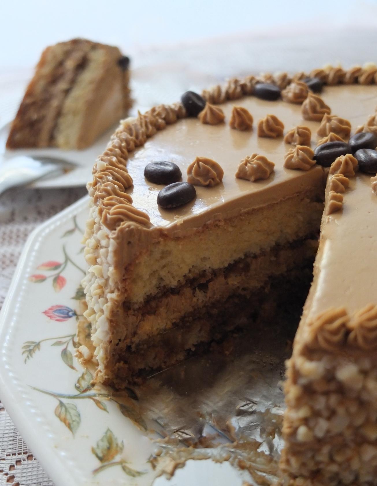 G 226 Teau Moka Recipe For Mum Lili S Cakes