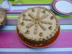 Moka cake at Barges
