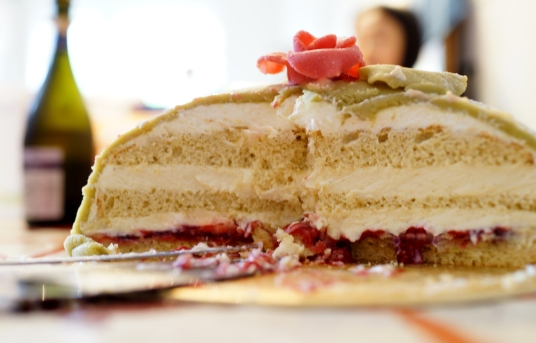 Swedish Princess cake