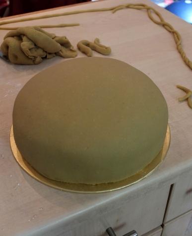 Princess cake marzipan