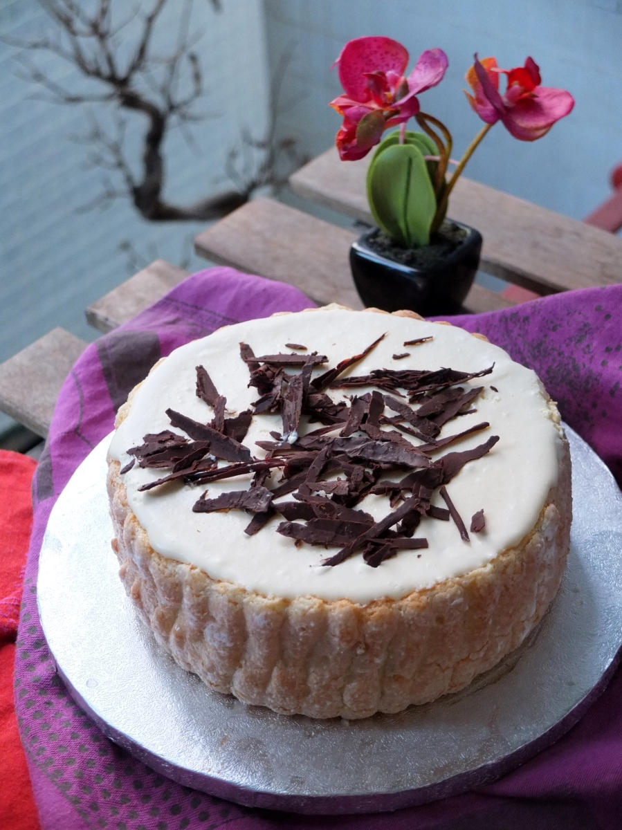 Chocolate and bergamot charlotte russe recipe