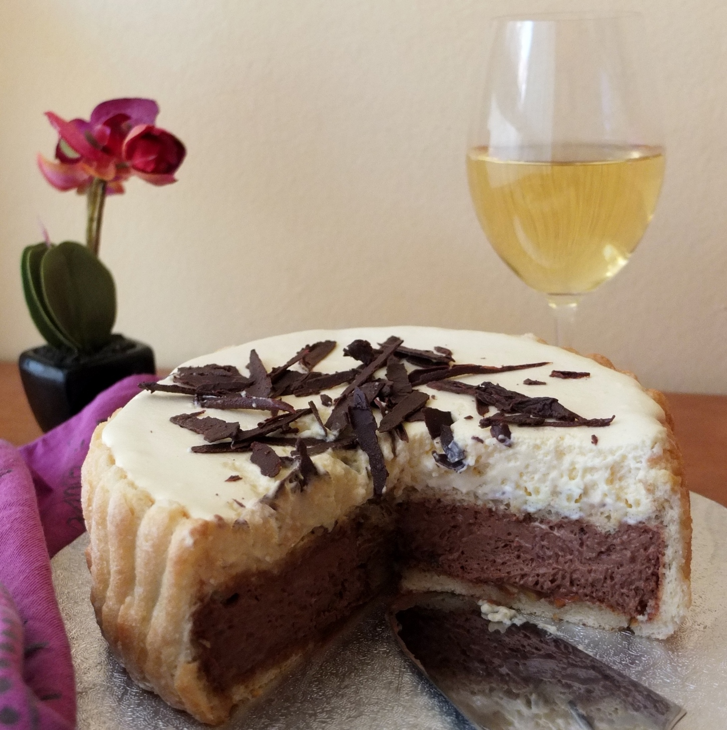 Chocolate and Chestnut Charlotte Recipe