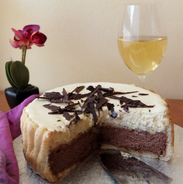 Chocolate and bergamot charlotte russe at http://wp.me/p5uVyi-lhW