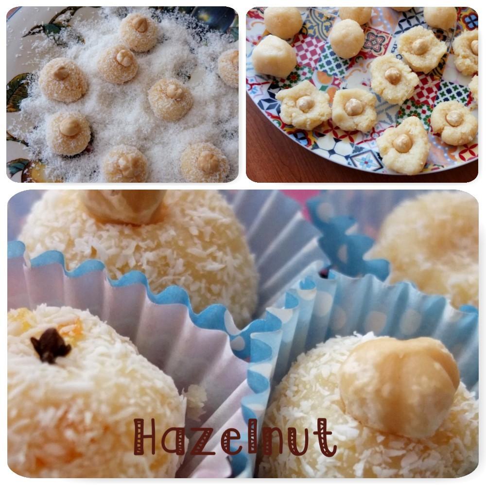Hazelnut beijinhos