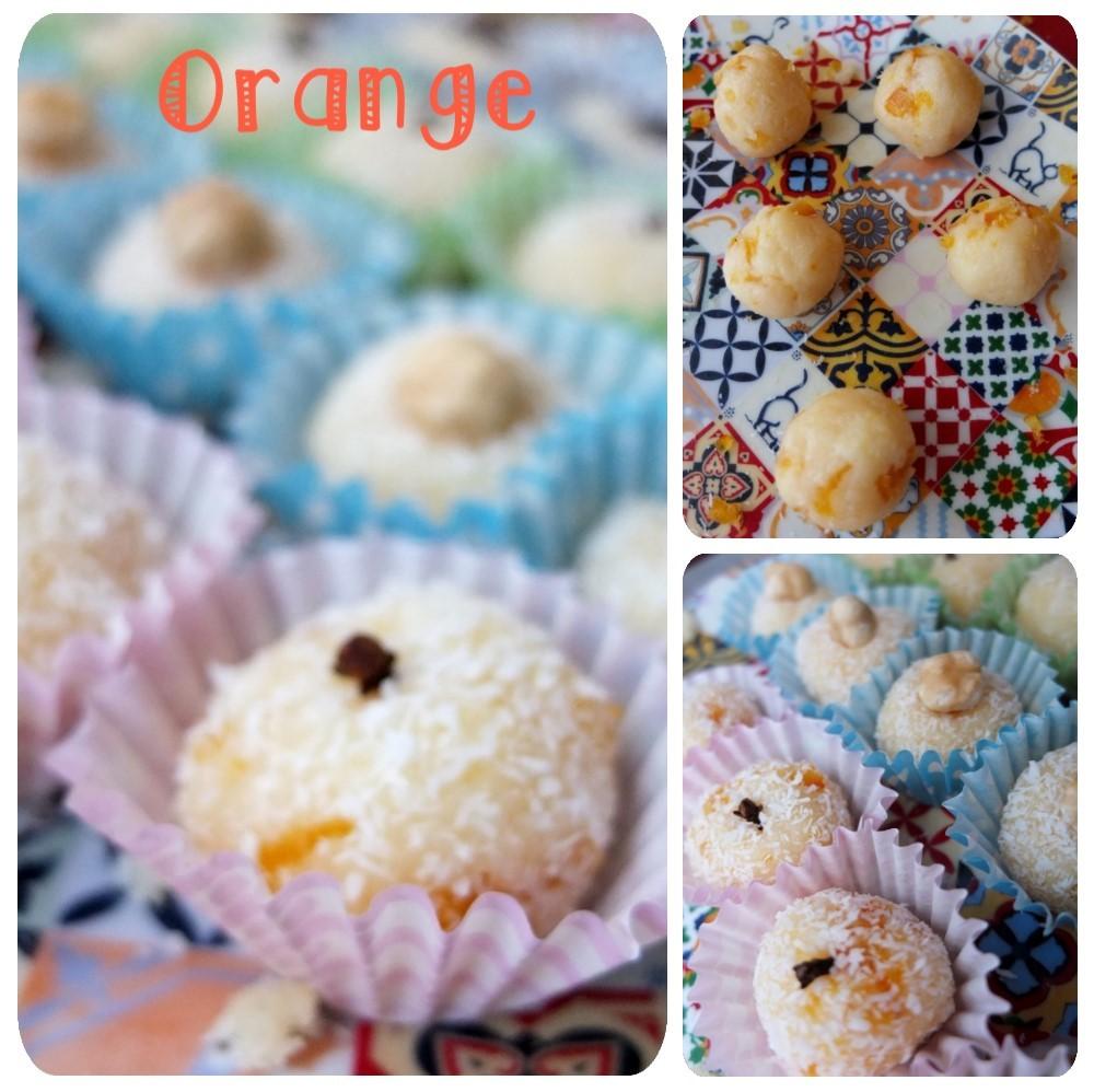 Orange beijinhos