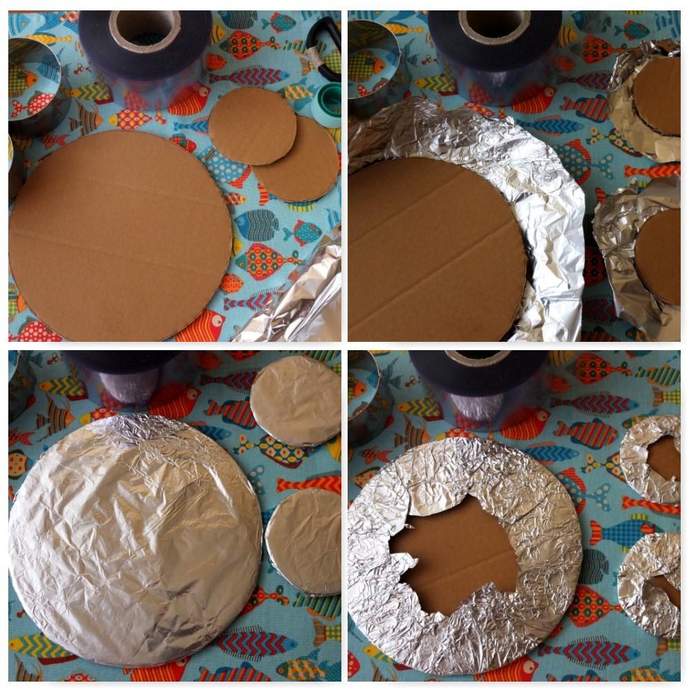 foil cake bases