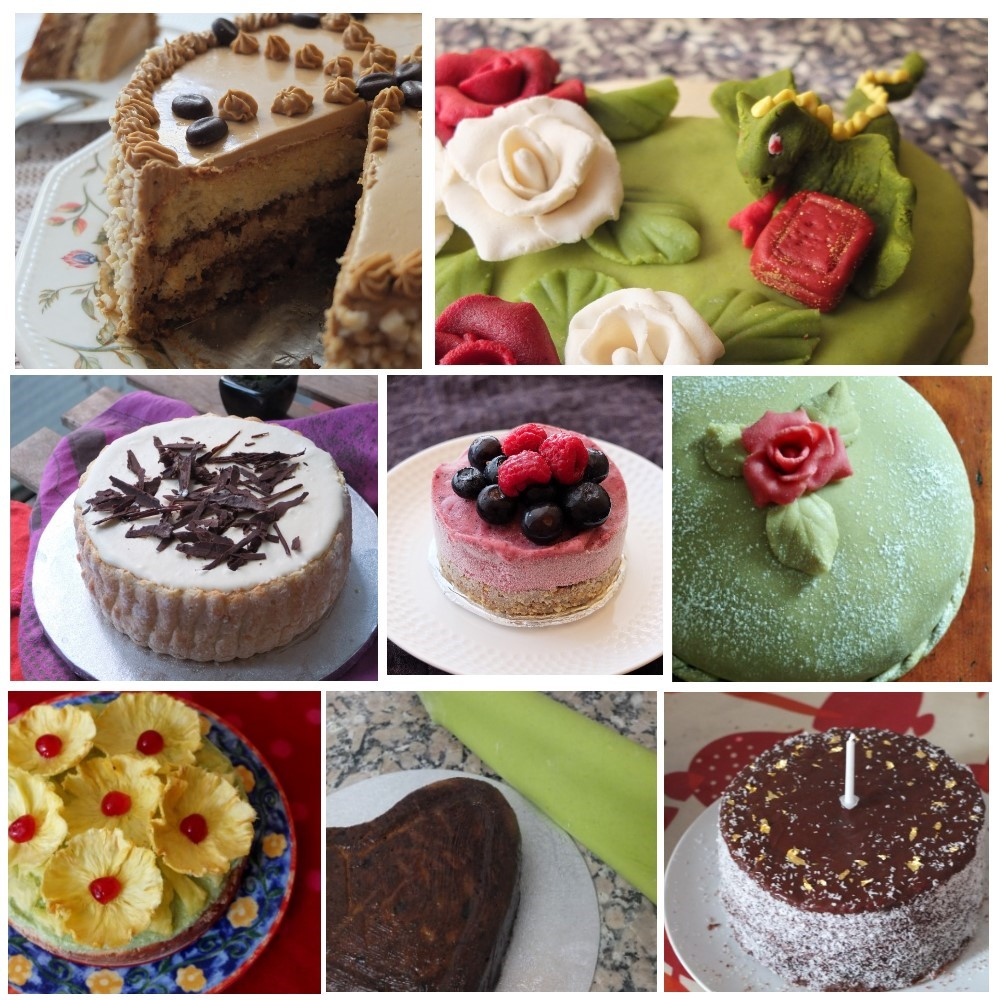 Decorating cakes and desserts