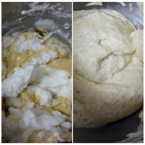Fold in remaining egg whites