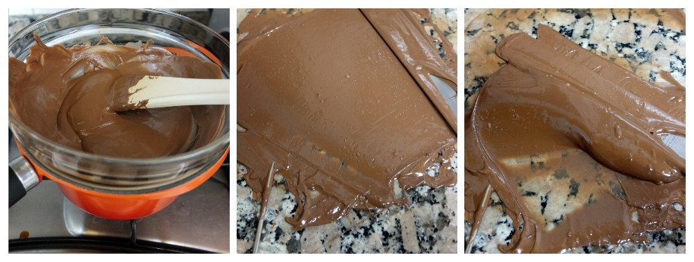 Melting and tempering chocolate